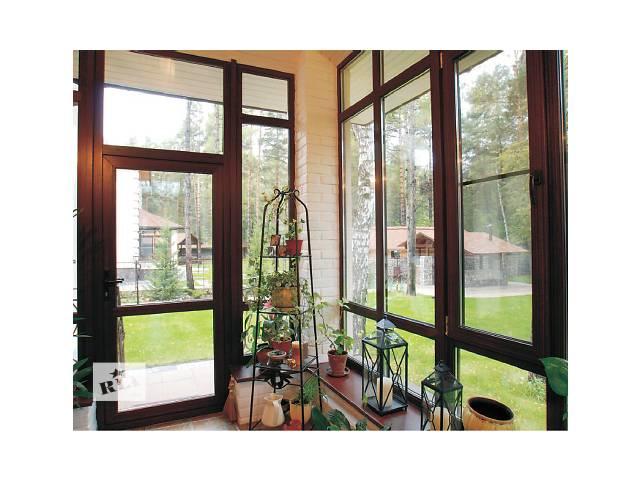 Ламинированые окна любого цвета,конфигурации и размера! Металлопластик- объявление о продаже  в Буче