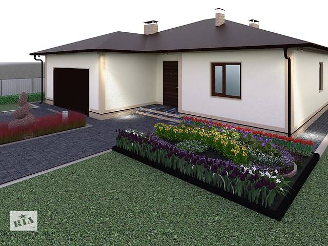 бу Ландшафтный дизайн  в Украине