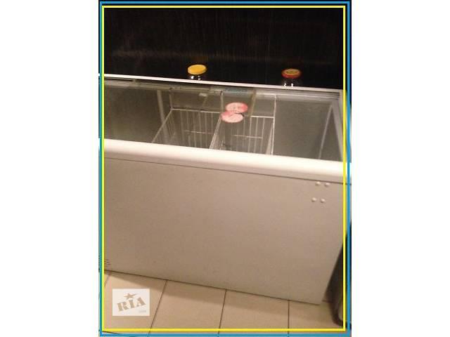 продам Ларь морозильный Nord Норд Б/У с прямым стеклом. бу в Киеве