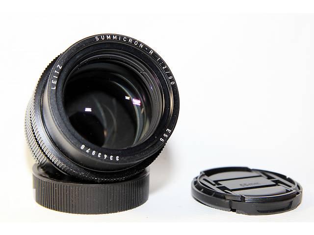 купить бу Leica Summicron-R 90mm f/2 E55 для Canon или Nikon в Новограде-Волынском