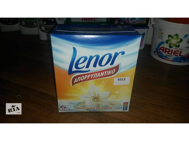 купить бу LENOR Лилия порошок для стирки универс. (22 стирки), 1.43 кг в Мариуполе