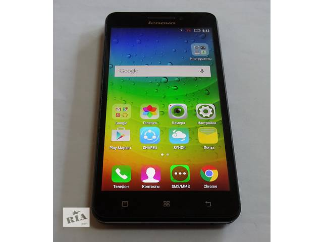 продам Lenovo A5000 Black Оригинал! 2 сим 4 ядра бу в Киеве