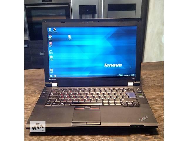 бу Lenovo ThinkPad L420 / i5-2450 2,5GHz / 4 Gb DDR3/ 320Gb HDD/ Win7 в Киеве