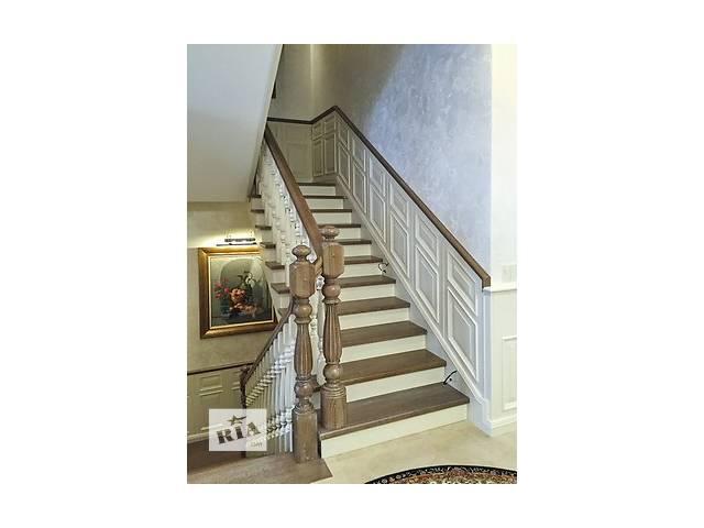 купить бу Лестницы деревянные для дома и дачи. в Броварах