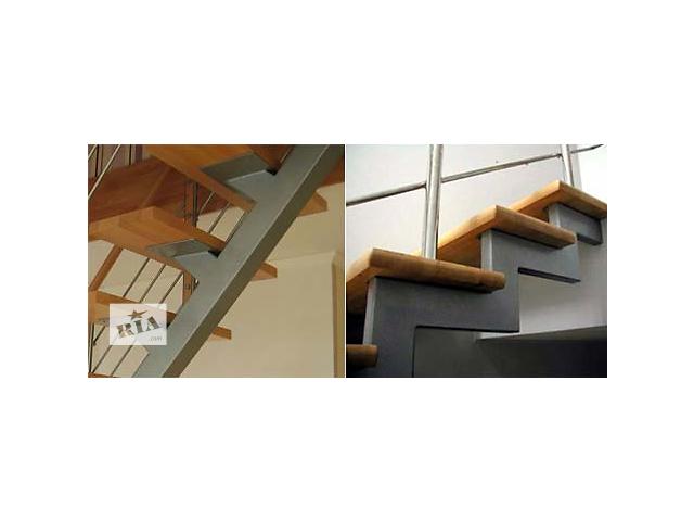 купить бу Лестницы на металлическом каркасе, Винница. Качественные и недорогие.  в Виннице