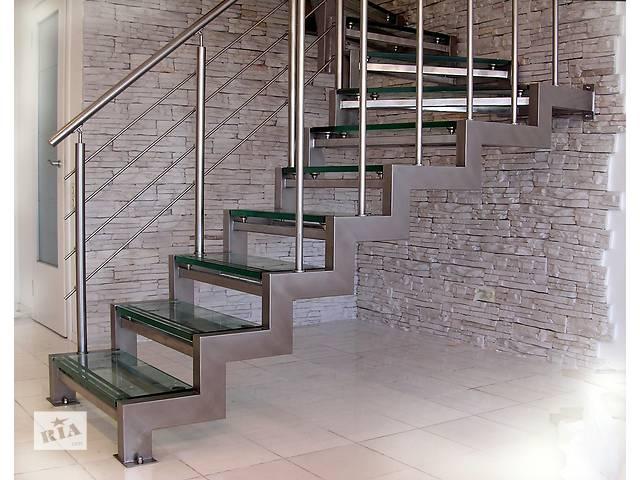 бу Лестницы из металла  в Украине