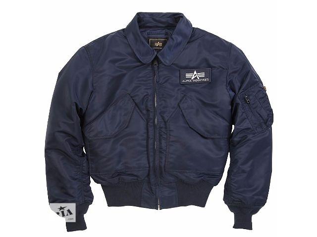 купить бу Осенняя мужская куртка-бомбер CWU 45/P Alpha Industries, США в Львове