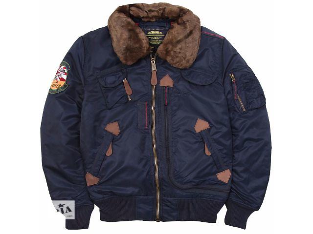 продам Летная куртка Injector Alpha Industries USA бу в Киеве