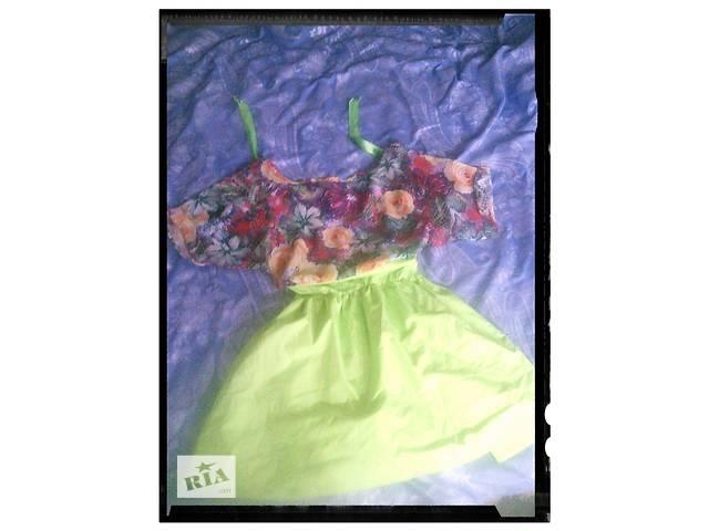 продам летнее платье бу в Бахмуте (Артемовске)