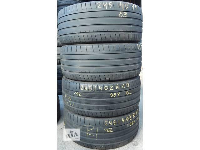 Летняя резина DUNLOP SP SPORT MAXX GT 04.14 245/40 ZR19- объявление о продаже  в Виннице