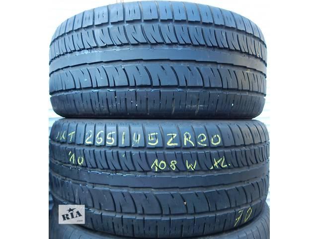 Всесезонная резина pirelli scorpion zero asimmetrico 07.10 265/45 zr20 108w- объявление о продаже  в Виннице