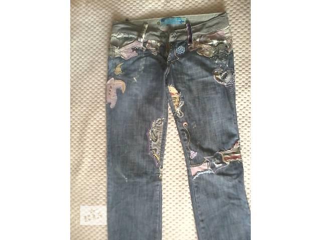 Летние джинсы- объявление о продаже  в Никополе (Днепропетровской обл.)
