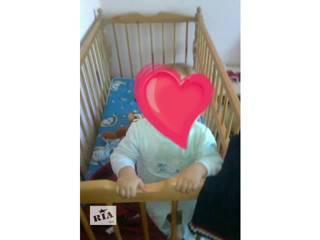 Кроватка детская- объявление о продаже  в Бродах
