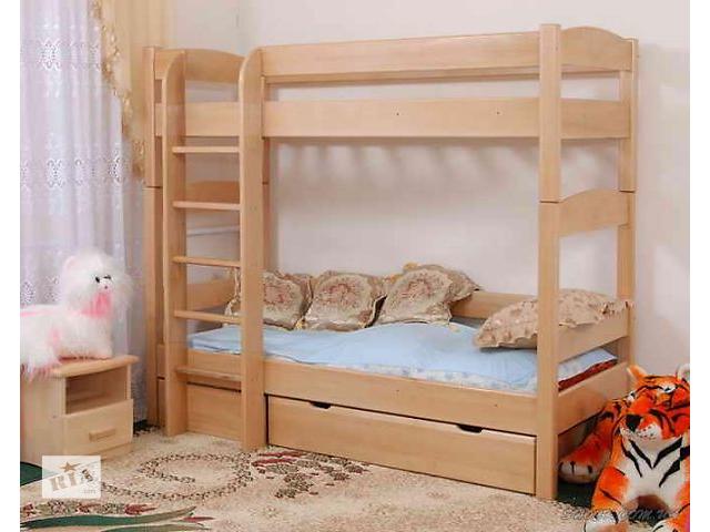 купить бу Кровать 2-х ярусная с бука Эврика в Ивано-Франковске