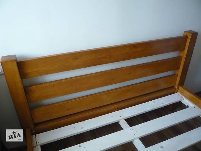 Ліжко деревяне з масива сосни- объявление о продаже  в Хотине