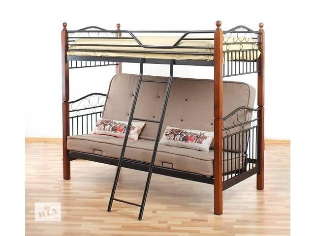 продам Кровать-диван 2-х ярусная 3-х містне Fun Futon бу в Ивано-Франковске
