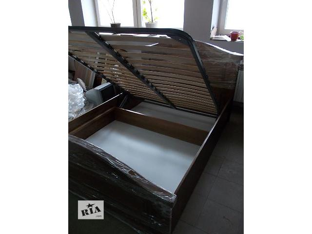бу Кровать с подъемным механизмом массив бук/дуб в Ивано-Франковске