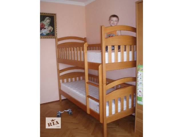 Ліжко двоярусне Демян 10% знижка на матраси- объявление о продаже  в Львове