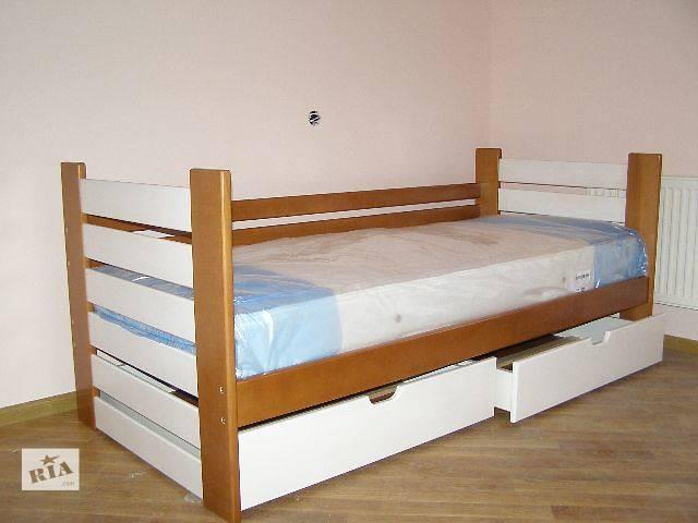 Акция!Кровать Марко из бука +ящики+матрас!!- объявление о продаже  в Львове