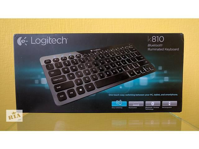 Logitech Bluetooth Illuminated Keyboard K810- объявление о продаже  в Киеве