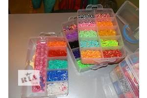 Loom Bands-7000 резинок. Набор для плетения, браслетов из разноцветных резинок. ребенок забудет о компьютере. опт, розн.