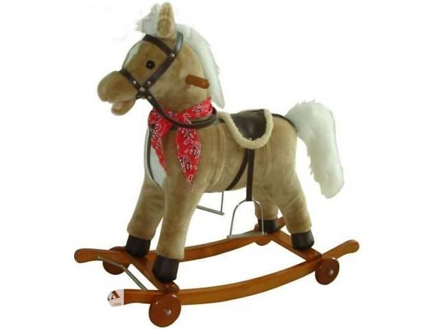 Лошадка качалка коник гойдалка поет песню, шевелит хвостом- объявление о продаже  в Ровно