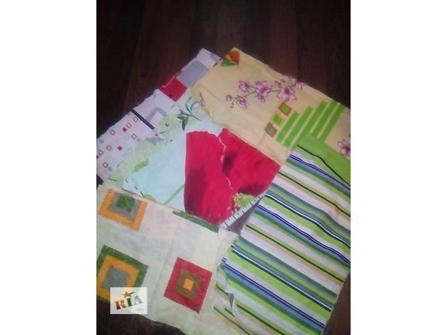 Лоскуты ткани разных размеров- объявление о продаже  в Хмельницком