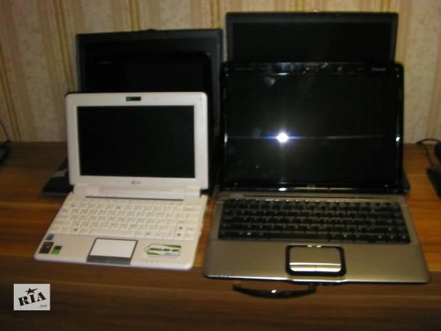 Лот Нерабочих Ноутбуков Asus EEE PC1000H, Dell Latitude D531 D620, Inspiron Mini 1010, HP Pavilion DV2171CL DV2000- объявление о продаже  в Киеве