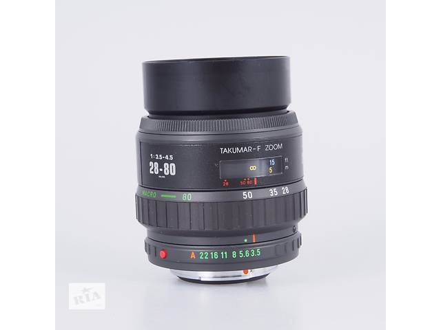 бу Pentax Takumar-F 28-80mm 3.5-4.5 no SMC! замена кита в Киеве