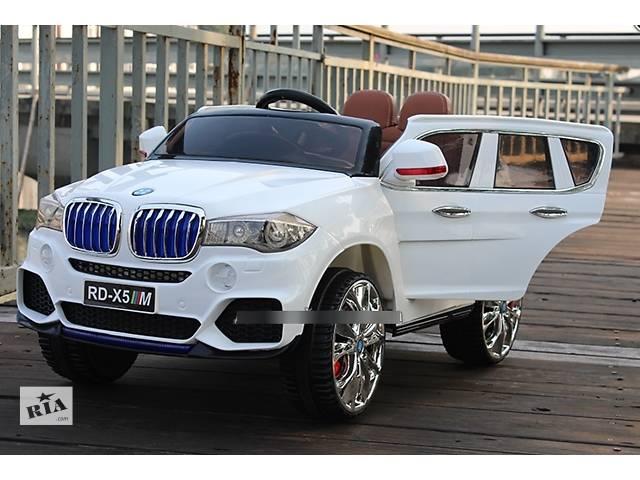Лицензионный Джип BMW M 3102 (MP4) EBLR-1, кожаное сиденье, белый- объявление о продаже  в Одессе