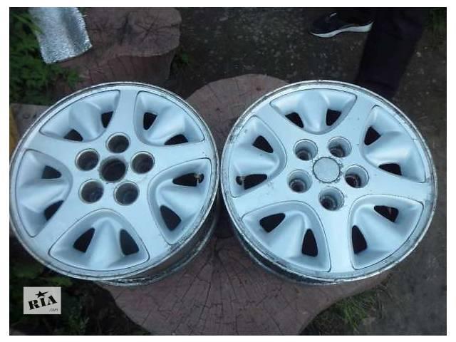 Литые диски R 15 на 5 дырок- объявление о продаже  в Черновцах