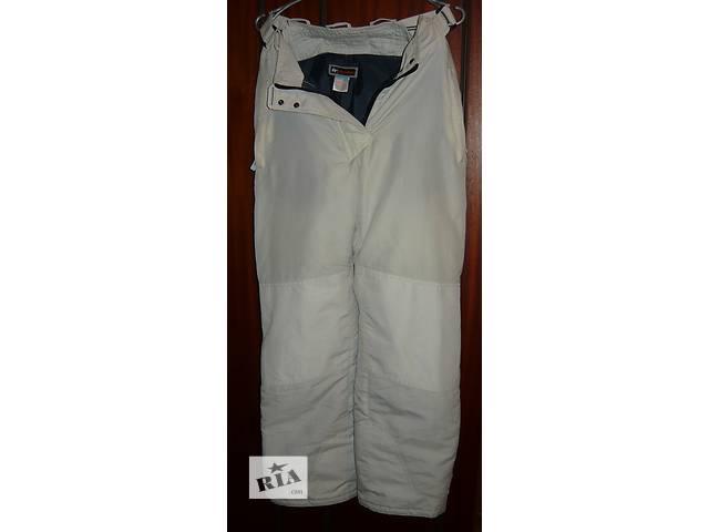 Лыжные штаны с внутренними манжетами б/у.- объявление о продаже  в Николаеве