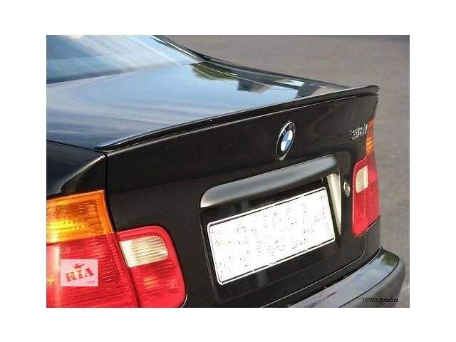 купить бу М-спойлер на крышку багажника BMW 3 series E46 в Харькове