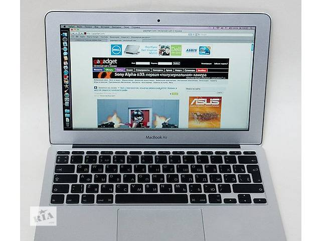 купить бу MacBook Air 11 inch (late 2010) A1370 в Мелитополе