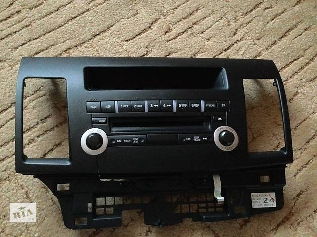 купить бу Магнитола 6CD/MP3 для MITSUBISHI Lancer X 2007+ (MITSUBISHI 8701A278) + лицевая панель в Чернигове