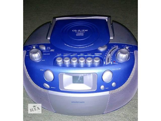 бу магнитола с CD диск проигрывателем    кассетным магнитофоном FM-Radio  Stereo в отличном состоянии. или обменяю на Компь в Львове
