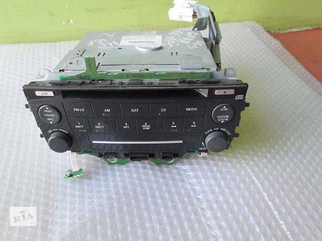 купить бу Магнитола штатная Mazda 6 06-08 рестайлинговая 6M8118C858AB в Харькове