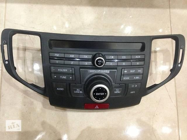 купить бу Магнитола штатное головное устройство Honda Accord 08-14г. в Киеве
