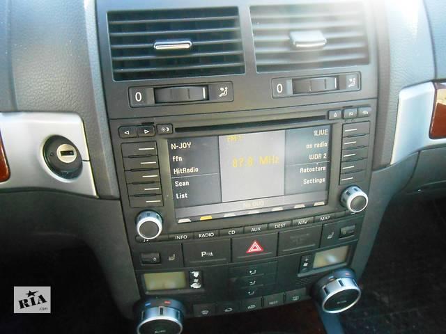 купить бу Магнитола Volkswagen Touareg Фольксваген Туарег 2002-2006г. в Ровно
