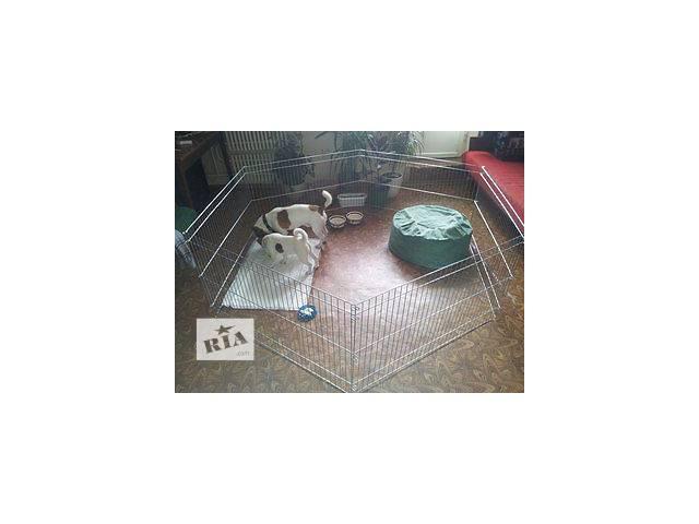 купить бу Манеж для разведения щенков или котят 200х100х60h см (продажа/аренда) в Киеве