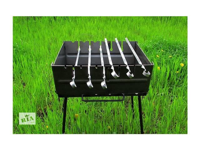 продам Мангал, раскладной, мангал чемодан, на 6 шампуров бу в Токмаке