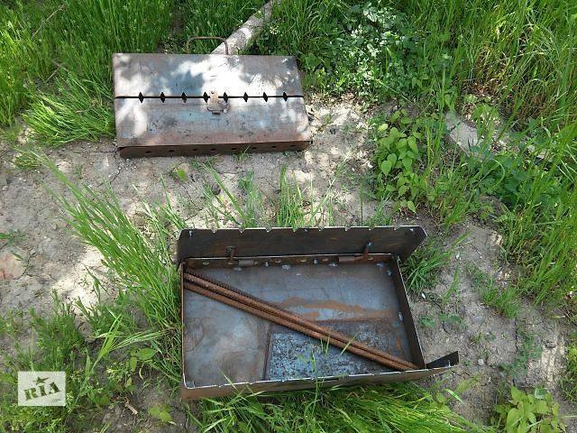 купить бу Мангалы-чемоданы на 8 шампуров от изготовителя в Одессе
