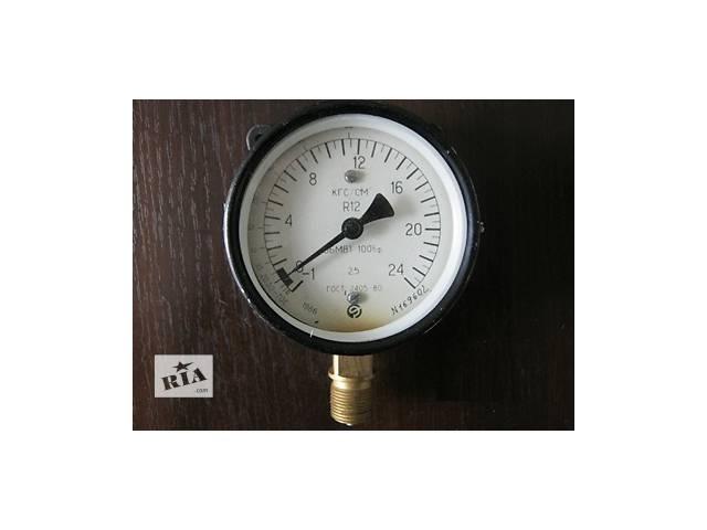 продам Манометры складского хранения ОБМВ1-100бф диапазоном измерения от-1 до +24 кг/см2 бу в Краматорске