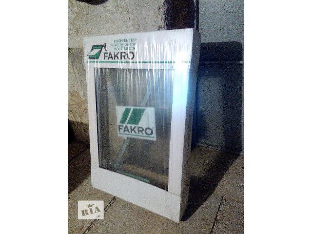 бу Мансардное окно Факро (FAKRO) FTS 06     78x118 cм    новое в Саках