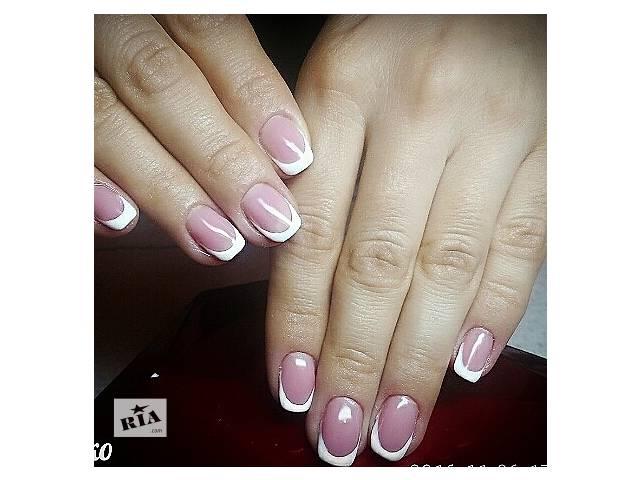 Маникюр,наращивание ногтей гелем- объявление о продаже  в Харькове