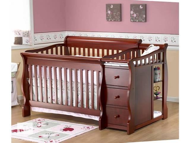 купить бу MARSHA - кроватка для новорожденного, из массива дерева в Киеве