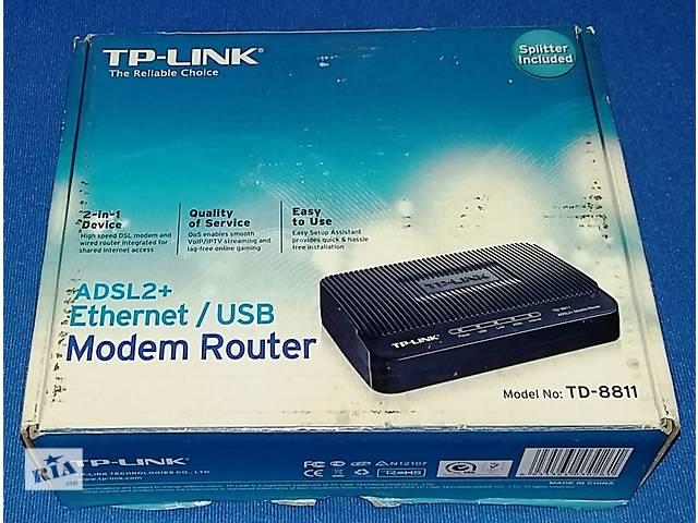 купить бу Маршрутизатор ADSL TP-Link TD-8811 ADSL2/2+ в Одессе