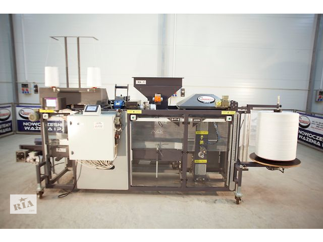 Машина для упаковки овощей (картофель, морковь, лук и др.) в рашель-мешки (1-ниточная), в наличии- объявление о продаже  в Ровно