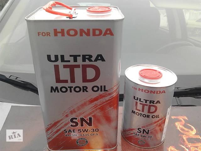 продам Масло для авто «HONDA SN 5W30 ultra LTD»+1л за 100грв!Упаковка-СТАЛЬНАЯ! бу в Каменском (Днепропетровской обл.) (Днепродзержинск)