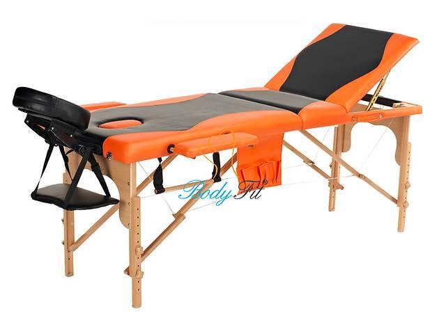 купить бу Массажный стол деревянный Польша 2-х сегментный стол для массажа в Запорожье